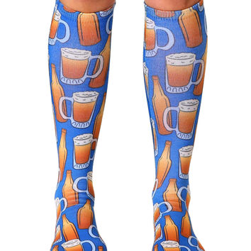 Beer Knee High Socks