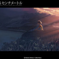 "5 Centimeters Per Second Poster Anime Art Silk Wall Posters Prints 13x17"" FsP7"
