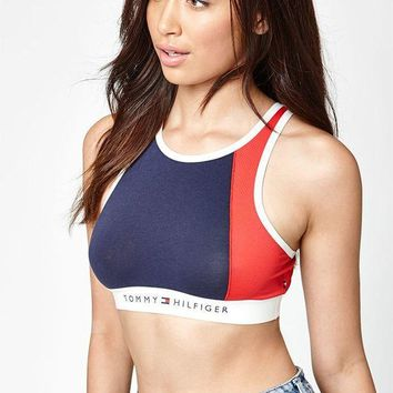 DCCKYB5 Tommy Hilfiger High Neck Bra