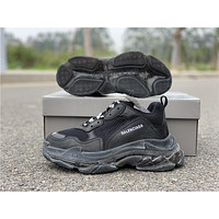 Balenciaga Triple S Trainers Black Sneakers 36-44