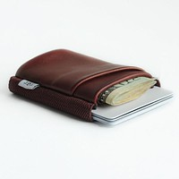 TGT DELUXE WALLET-OXBLOOD ALL OVER