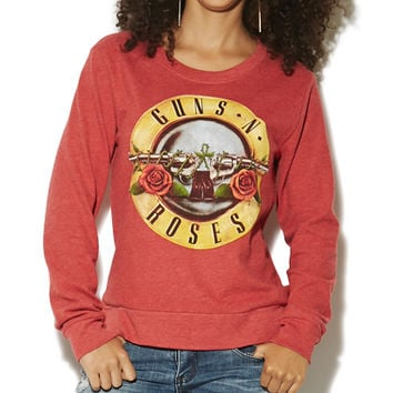 Guns N' Roses Hacci Sweatshirt | Shop Just Arrived at Wet Seal