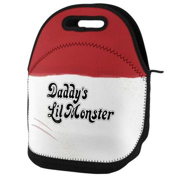 DCCKU3R Daddy's Lil Monster Lunch Tote Bag