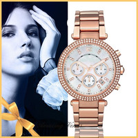 New Famous Brand Luxury Crystal Ceramic Dial Bracelet Quartz Wrist Watch Christmas Gift for Ladies Women Gold Rose Gold Silver = 1956359172