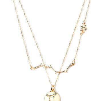 Star and Constellation Charm Necklace Set