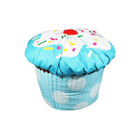 Harmony Kids Cupcake Bean Bag - Blue