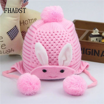 2016 Fashion Brand Winter Autumn Knitted Newborn Crochet Baby Hat Girls Wool Cap Children Beanie Infant Toddlers Sweater Knit
