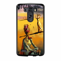 Salvador Dali Woman With Flower Head Vogue LG G3 Case