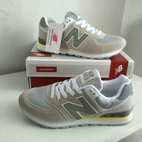 """New Balance"" Fashion Casual All-match Male Female N Words Breathable Couple Sneakers Shoes"