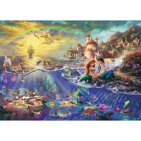 Thomas Kinkade The Disney Dreams Collection The Little Mermaid Jigsaw Puzzle - Puzzle Haven