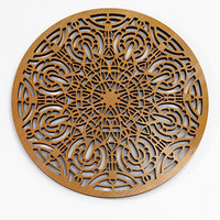 Frank Lloyd Wright Francis Apartments Grille Hardwood Wall Medallion