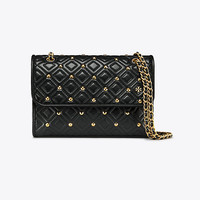 Tory Burch Fleming Stud Small Convertible Shoulder Bag