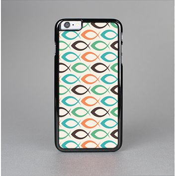 The Vintage Colored Vector Fish Icons Skin-Sert for the Apple iPhone 6 Plus Skin-Sert Case