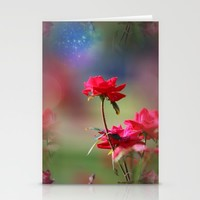 Do You Believe In Magic Stationery Cards by Theresa Campbell D'August Art