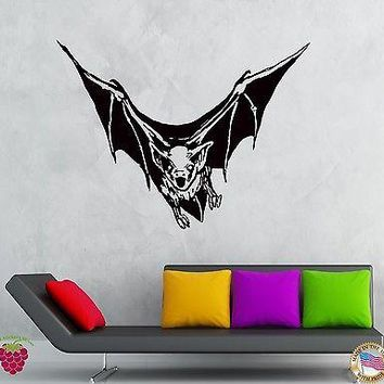 Wall Stickers Vinyl Decal Bat Vampire Nights Animals Scary Creepy  Unique Gift (z2129)