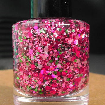 Cherry Blossom Hand made custom nail polish