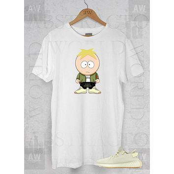 Butters Yeezy Boost 350 South Park Butter Tee Adult Unisex T Shirt