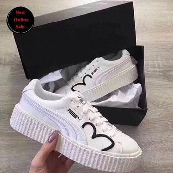 LMFON Best Online Sale New Fenty PUMA Rihanna CLF Creeper Shoes Women Casual Shoes Sneakers