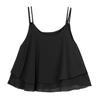 Casual Sexy Loose Sleeveless Vest Chiffon Women Tank Tops