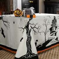 Halloween Tablecloth | Pottery Barn Kids