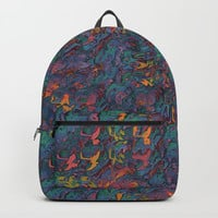 Glitching It (No. 2) Backpacks by Lyle Hatch