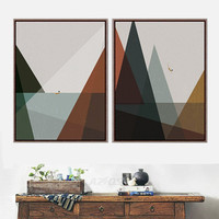 Canvas Printings Modern style A4 Art Print Poster Wall Picture Home Decor Painting No Frame Room Home Decor PP138