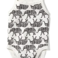 Printed Tank Bodysuit for Baby   Old Navy