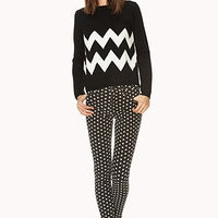 Zigzag Stripes Sweater