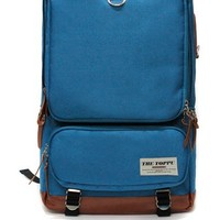 Korean Stylish Mens Multi-Pockets Backpack Schoolbag Travel Overnight #138