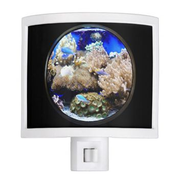 Saltwater aquarium nightlight
