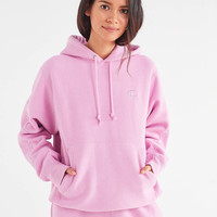 Champion & UO Reverse Weave Embroidered Hoodie Sweatshirt | Urban Outfitters