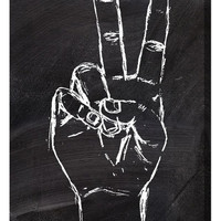 'Peace Out' Wall Art