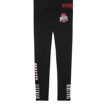 The Ohio State University Cotton Strappy Ankle Legging - PINK - Victoria's Secret