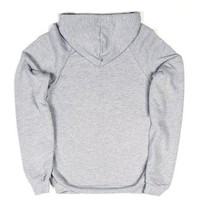 Brooks Brothers-Unisex Heather Grey Hoodie