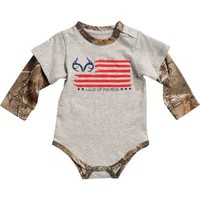 Realtree Infants' Camo Layered Onesuit