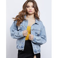 Old School Oversized Denim Jacket