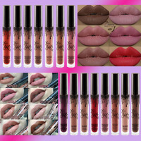 2016 HOT 15 colors kylie jenner lip kit kylie jenner lipstick kylie lip kit matte liquid lipsticks Metals Kylie Jenner Lip Gloss