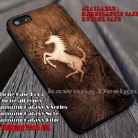 Horse Jump on Wood iPhone 6s 6s+ 5s 5c 4s Cases Samsung Galaxy s4 s5 s6 Edge+ NOTE 5 4 3 #art ii