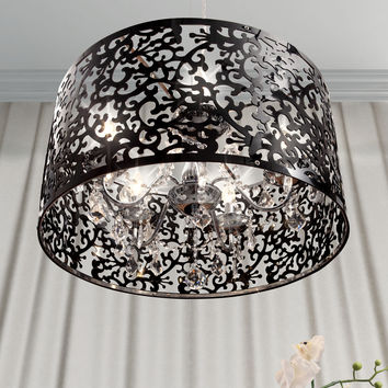 Zuo Nebula Ceiling Lamp Black - 50034