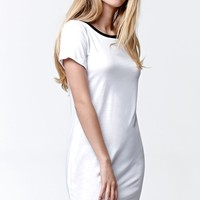 LA Hearts Ringer T-Shirt Dress - Womens Dress