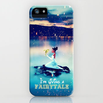 I'm living a fairytale - for iphone iPhone & iPod Case by Simone Morana Cyla