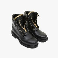 Taiga ranger leather boots | Women's low boots | Balmain