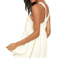 O'Neill Diedra Ivory Embroidered Shift Dress