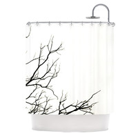 "Skye Zambrana ""Winter"" Shower Curtain, 69"" x 70"" - Outlet Item"