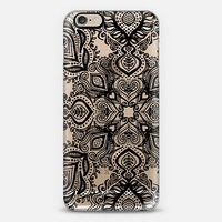 Bold Love Black Lace iPhone 6 case by Micklyn Le Feuvre | Casetify