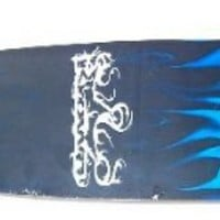 KROWN Longboards BLUE FLAME COMPLETE Longboard SALE!!!