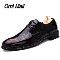 Dress Leather Shoes Men's Oxfords Shoes