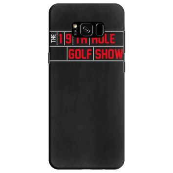 my best round is the 19th hole funny golf drinking Samsung Galaxy S8