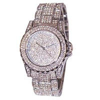 Women Watches Rhinestone Ceramic Crystal Quartz Watches