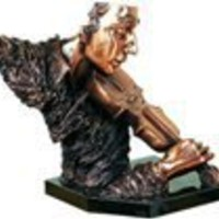 Home Decor | Male Violinist Statue